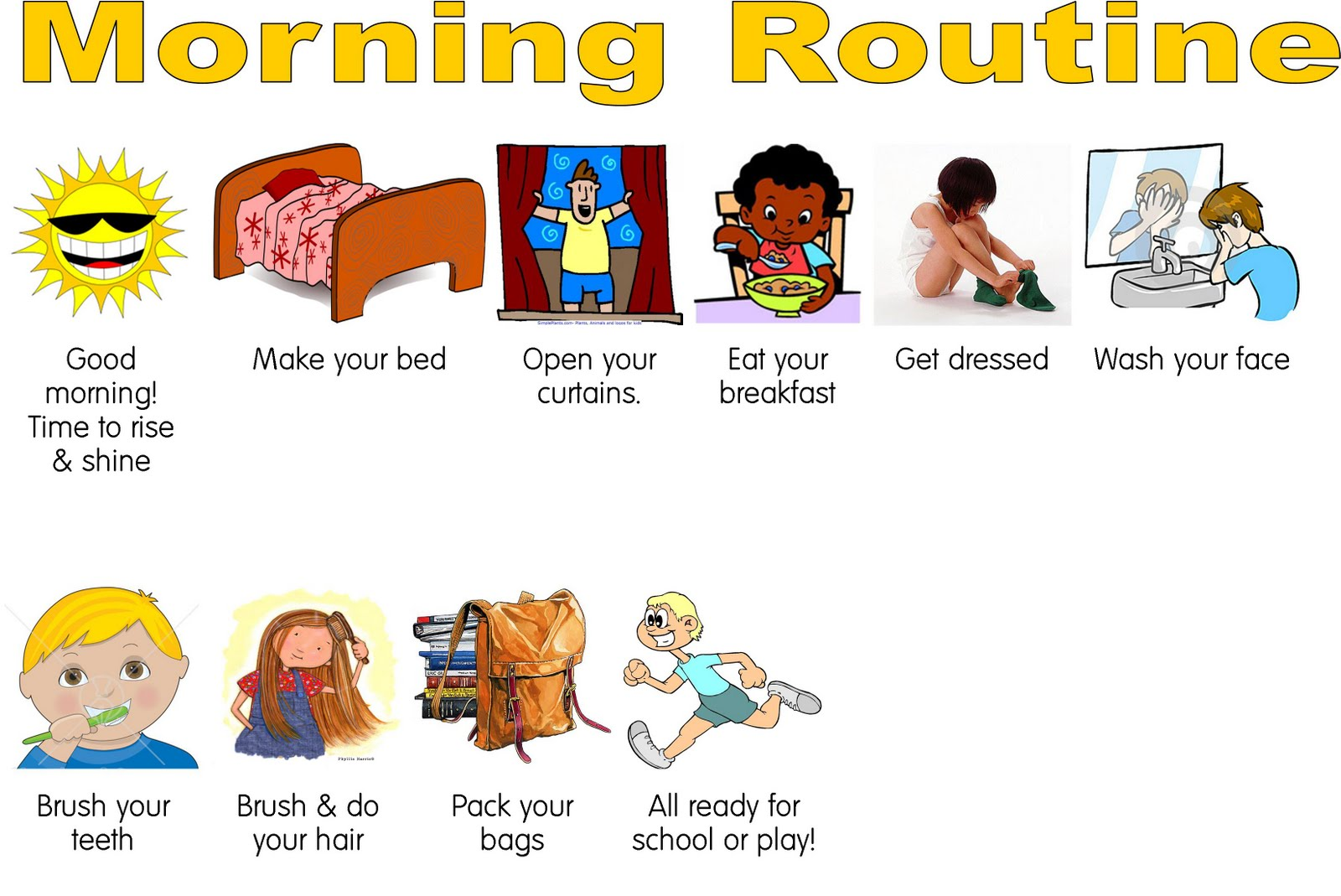 morning routine applied behavioral strategies